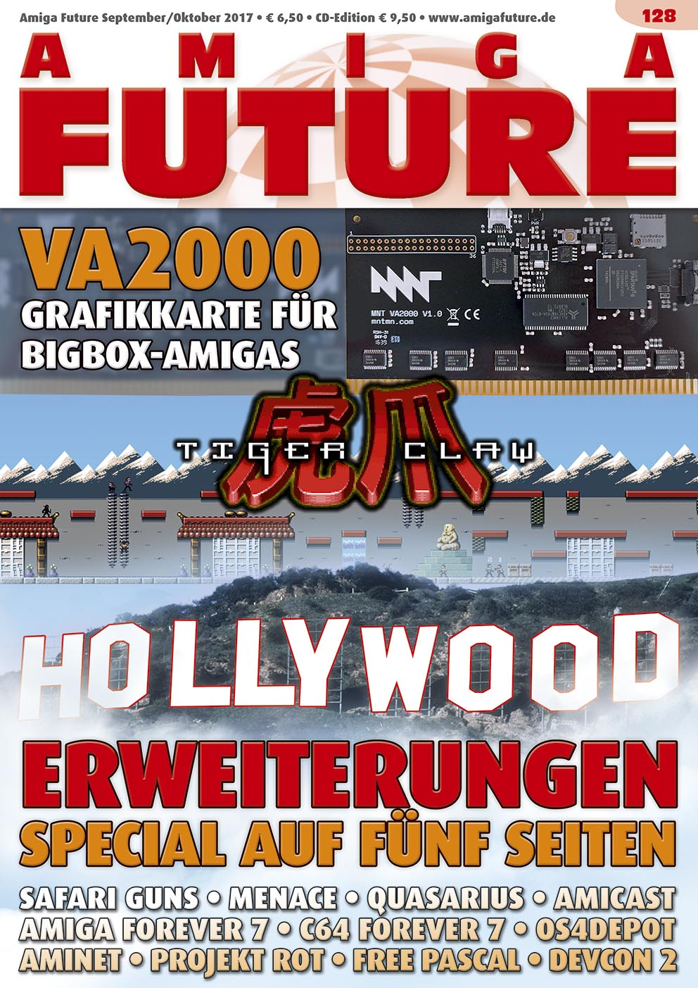 1 Year Subscription from Amiga Future Issue 128