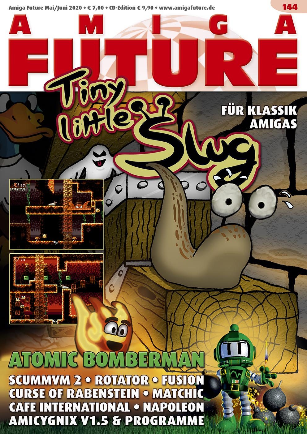 1 Year Subscription from Amiga Future Issue 144